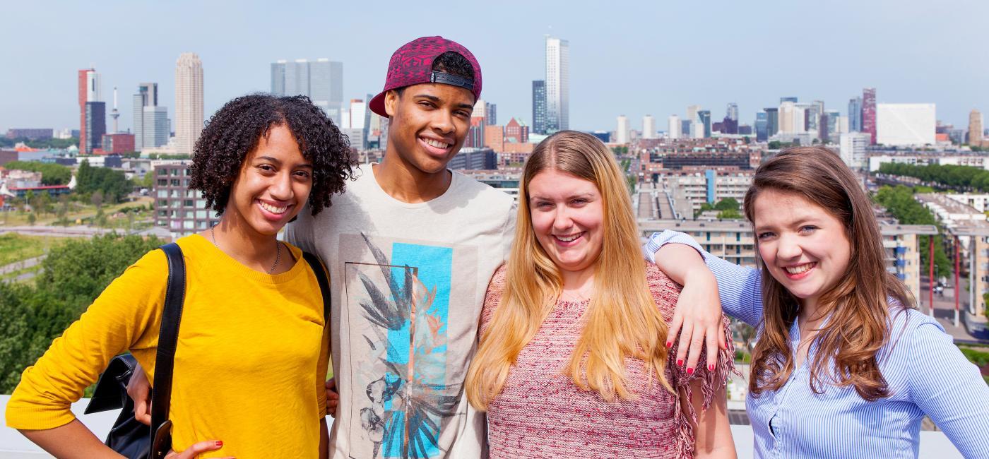 Studenten voor skyline